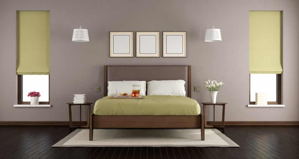 Chambre infestée de punaises de lit